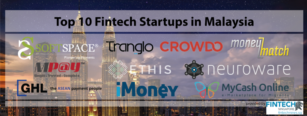 Top10 Fintech Startups in Malaysia