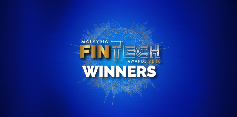 Winners for Malaysia's First Fintech Award