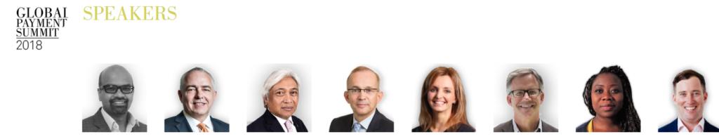 Global Payments Summit Speakers