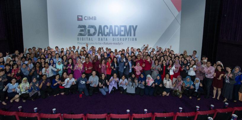 Digital, Data, Disruption: CIMB Pledges RM 75 Million to Its 3D Academy