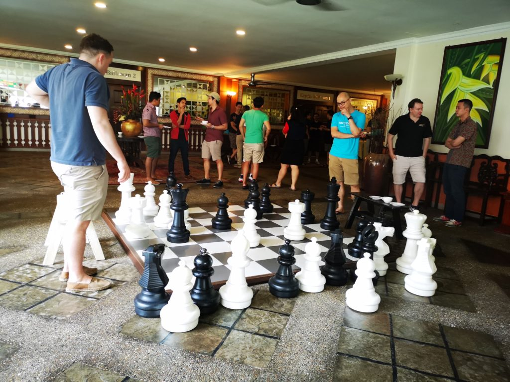 fintech barcamp langkawi 2018 unconference chess