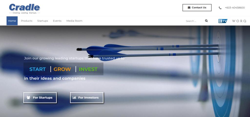 fintech investors venture capitalist companies cradle VC