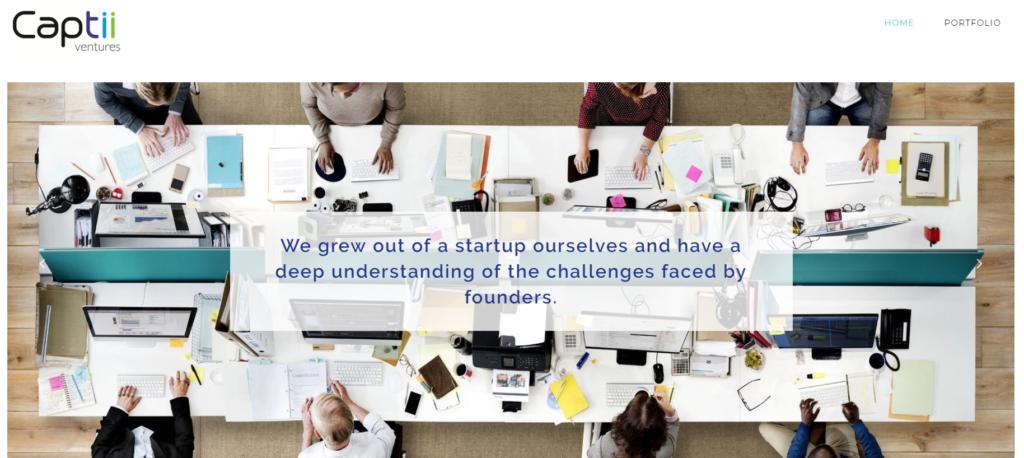 fintech investors venture capitalist companies VC Captii Ventures