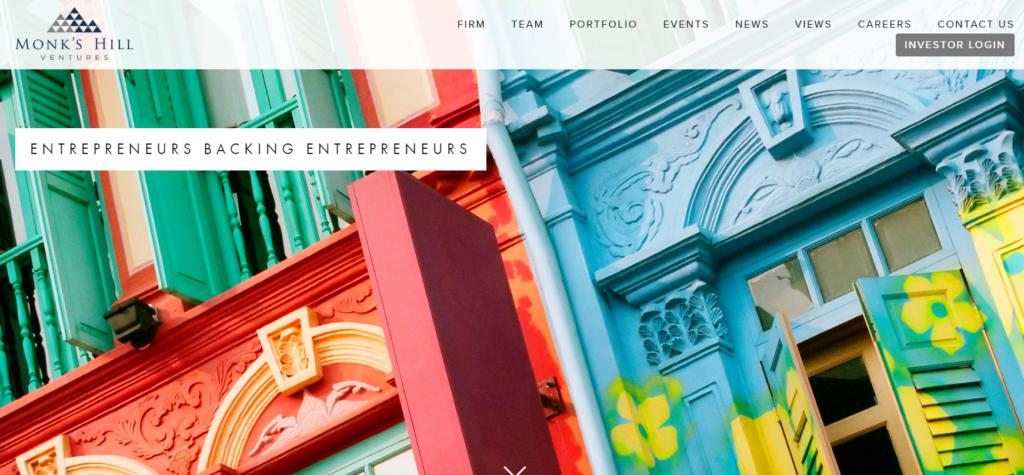 fintech investors venture capitalist companies VC monk's hill venture