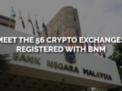 Meet the 56 Cryptocurrency Exchanges in Malaysia Registered with BNM