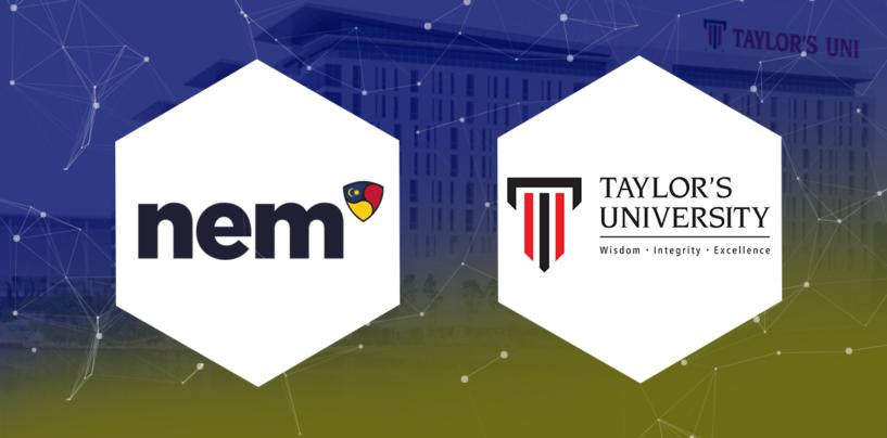 Taylor's University to Create Blockchain Syllabus in Partnership with NEM