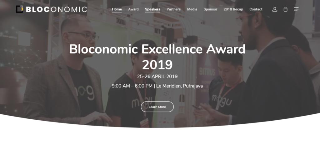 bloconomic blockchain economic summit fintech events malaysia