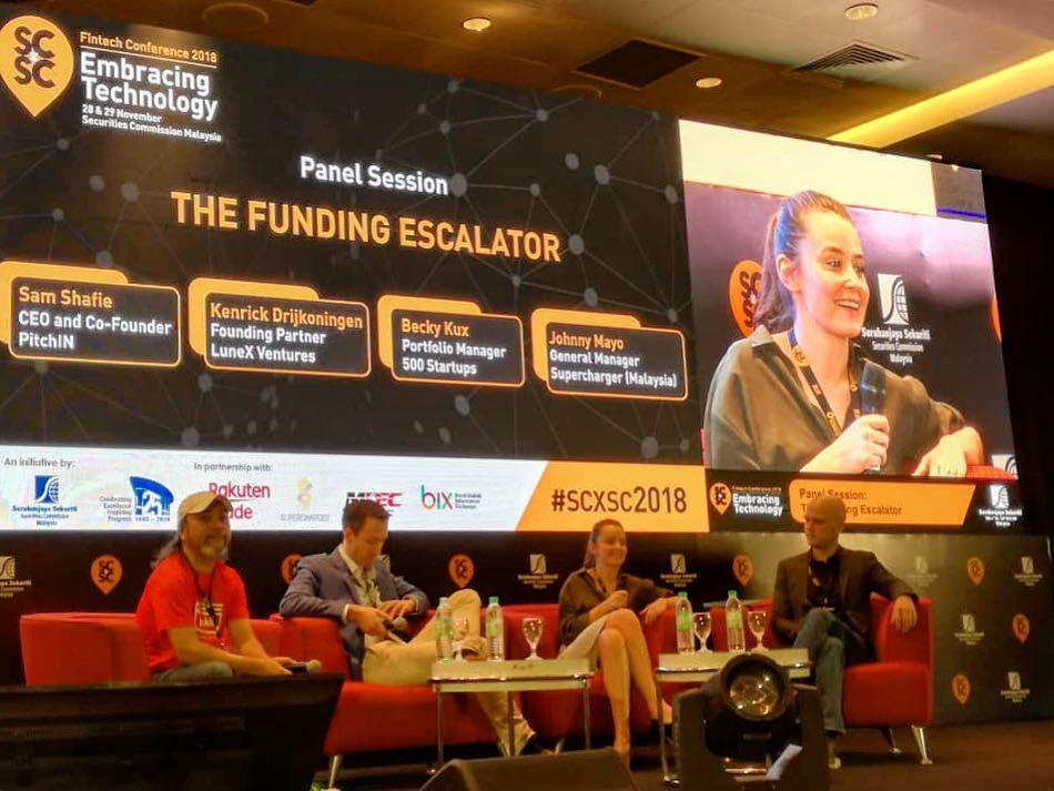 scXsc securities commission Malaysia fintech event