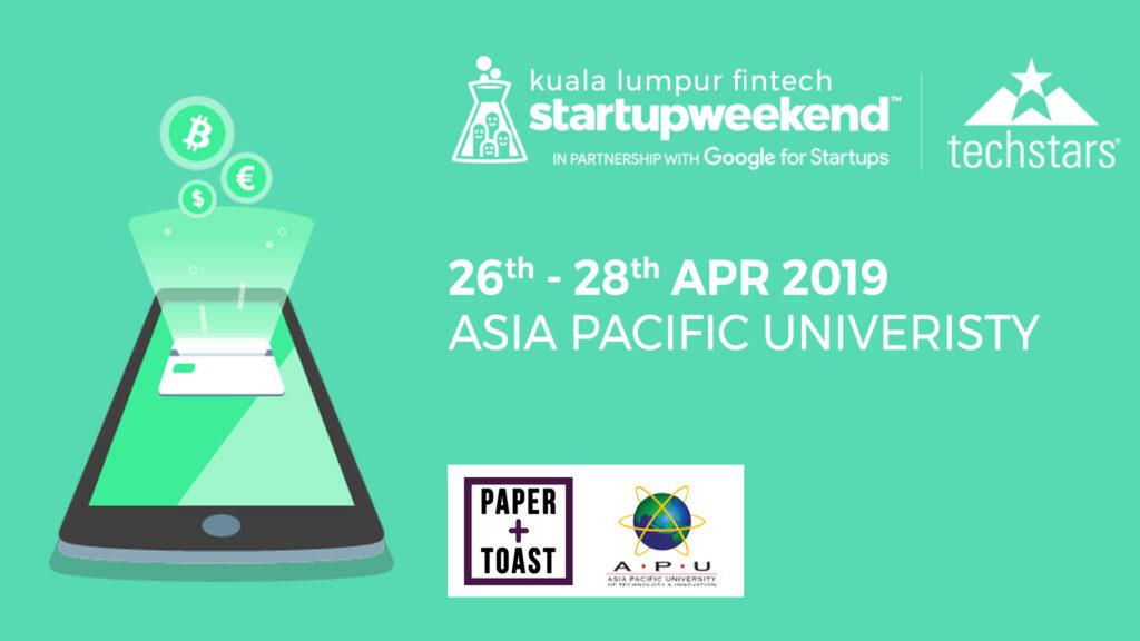 techstars fintech startup weekend