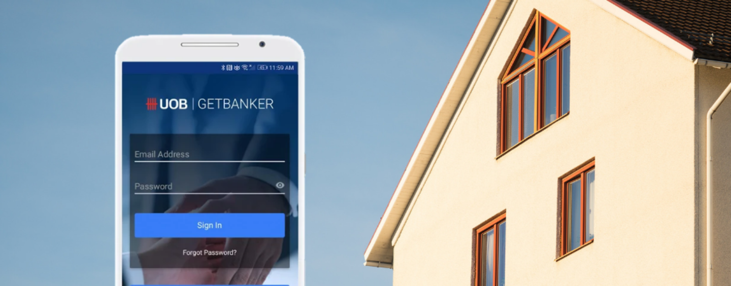 UOB Launches an App That Matches Property Buyers with Mortgage Bankers