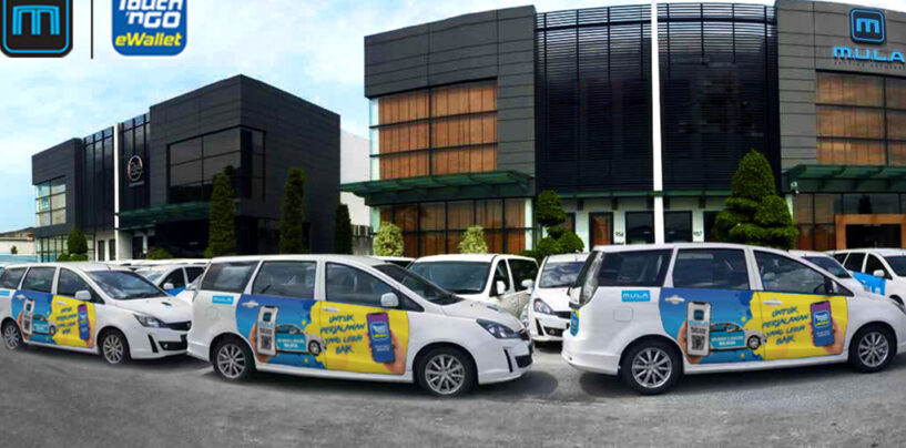 Touch 'n Go E-Wallet Powers Cashless Payment Option For MULA's E-Hailing Services