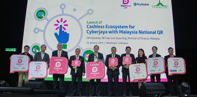 Cyberjaya is The First City to Adopt Malaysia's National QR Payment Standard DuitNow QR