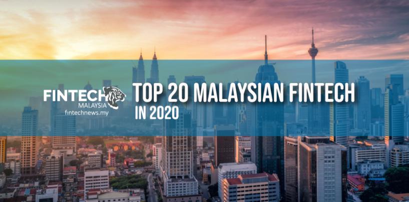 Top 20 Malaysian Fintechs in 2020