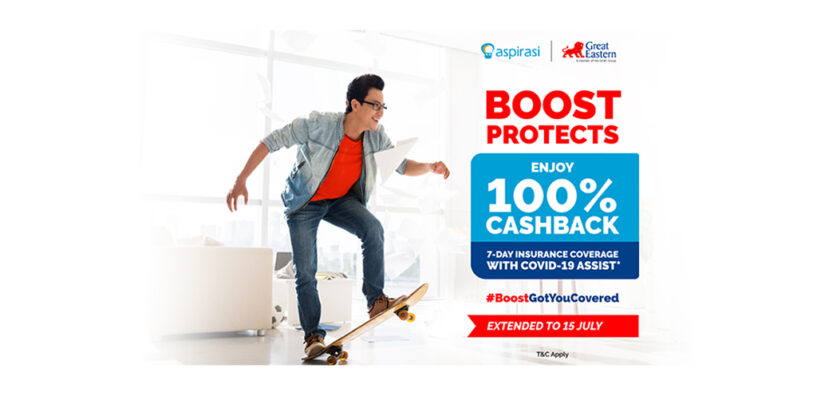 Boost and Aspirasi Launches Micro-Insurance Underwritten by Great Eastern Life Assurance