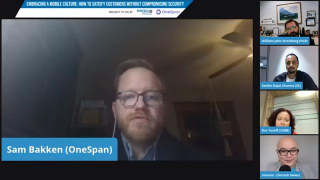 Sam Bakken, senior product marketing manager at OneSpan