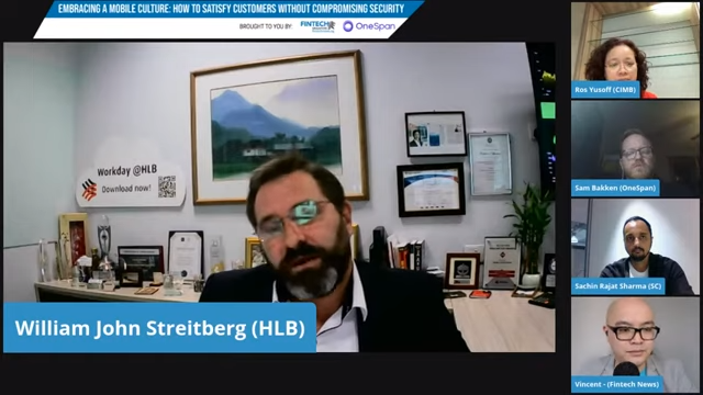 William Streitberg, chief information and technology officer at Hong Leong Bank in Malaysia
