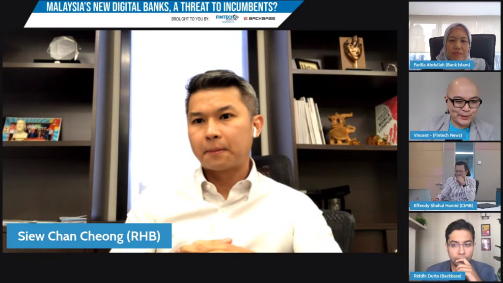Dr. Siew Chan Cheong, Group Chief Strategy Officer of RHB Banking Group