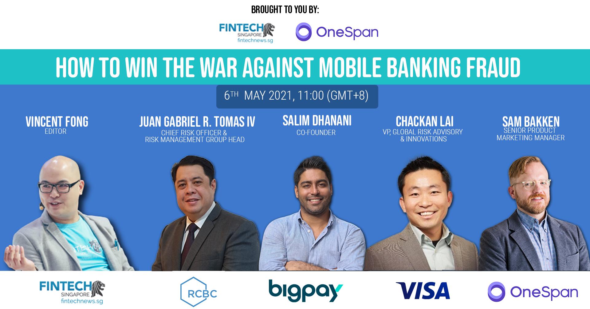 OneSpan mobile banking fraud webinar
