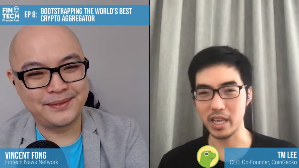 Bootstrapping the World's Best Crypto Aggregator ft. TM Lee, Co-Founder, CoinGecko