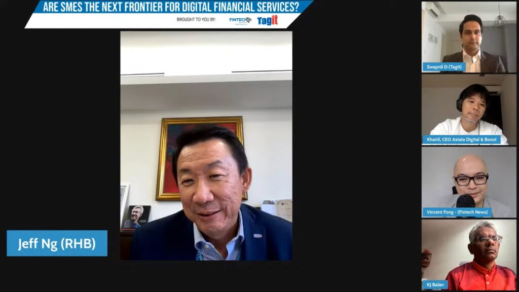 Jeffrey Ng Eow Oo, Head, Group Business and Transaction Banking, RHB