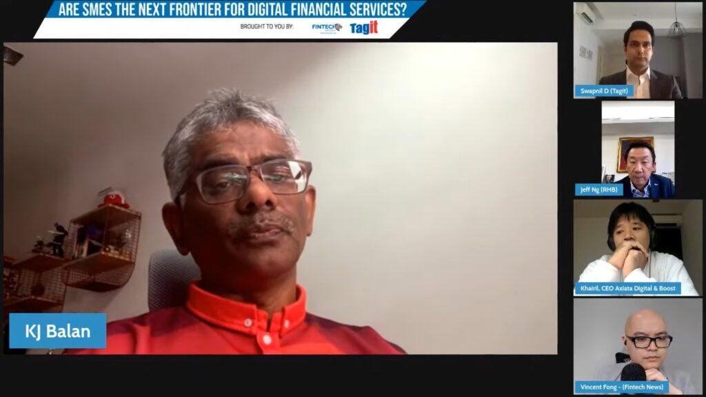 KJ Balan, Head, SME Banking - Commercial Banking Malaysia, CIMB