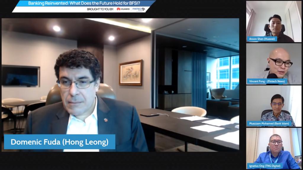 Domenic Fuda, Group Managing Director and CEO of Hong Leong Bank