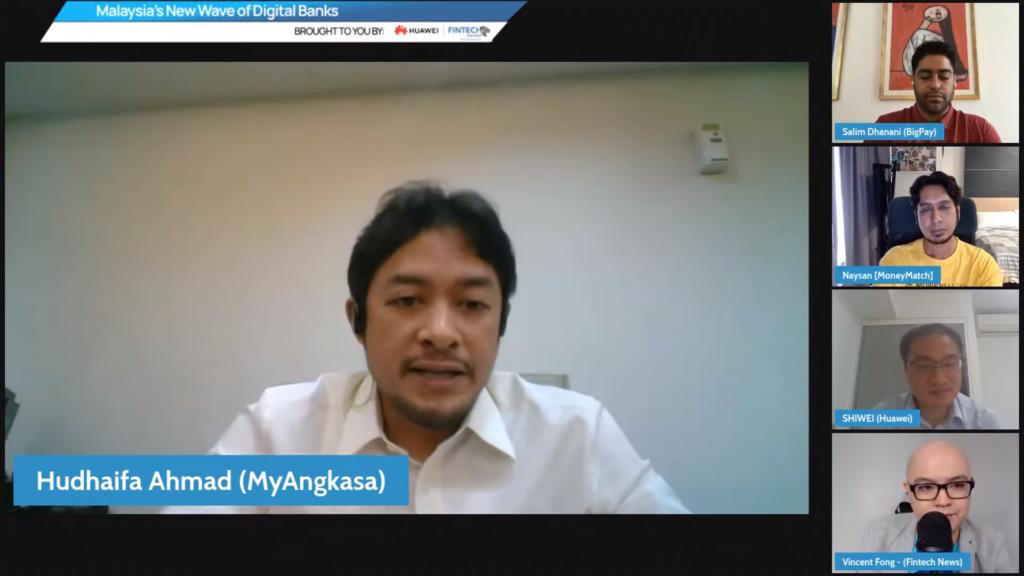 Hudhaifa Ahmad, co-founder and executive director of MyAngkasa