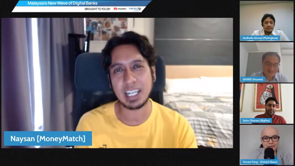 Naysan Munusamy, co-founder of MoneyMatch