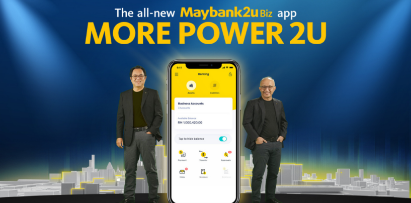 Maybank Rolls Out New Business Banking App for SMEs